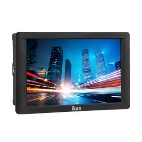 Monitor Ikan DH7 7 Inch 4K Signal Support 1920 x 1200 HDMI On-Camera Field Monitor con adaptador Canon LP-E6 y Sony L